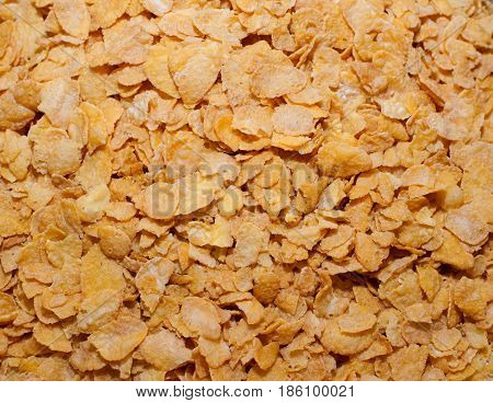 A lof of cornflakes for morning food