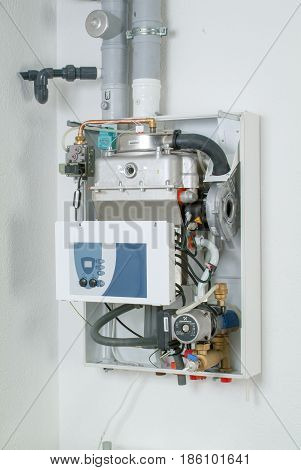 White Home Gas-fired Boiler