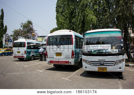 Yutong Mini Bus. New Bus Of Chiangmai City Bus