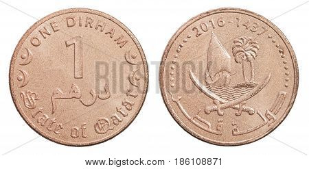 One Qatar Dirham