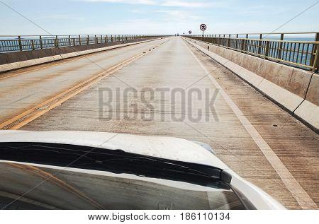 Bridge That Divides The State Of Sao Paulo And Mato Grosso Do Sul