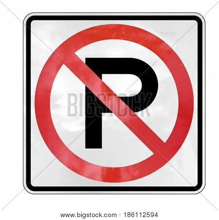 no parking sign forbidden  law symbol forbidden
