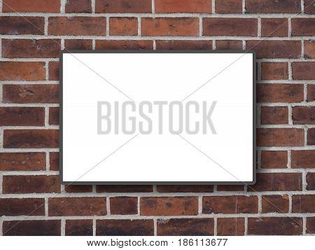 Blank Billboard Hoarding