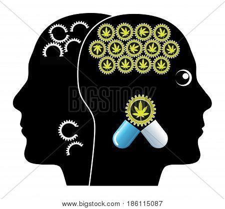 Cannabis against Dementia. Medical Marijuana proven treatment of Alzheimer Disease