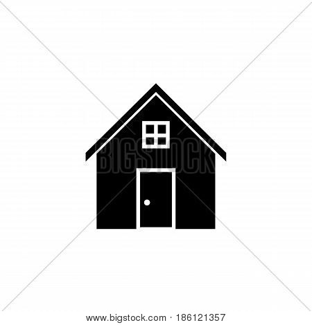 House solid icon, home and building sign, vector graphics, a filled  pattern on a white background, eps 10.