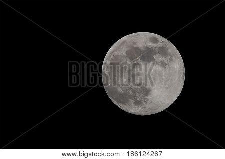 Fullmoon full moon april in night dark shining bright