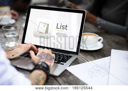 List reminder organizer management memo