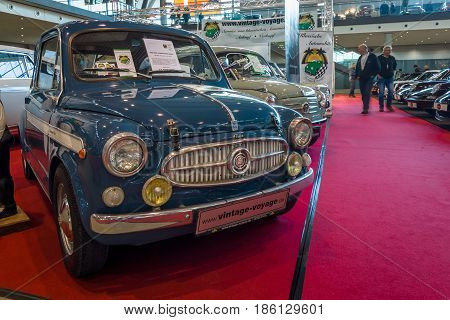 STUTTGART GERMANY - MARCH 02 2017: City car Fiat 600