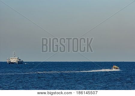 Small Military Ship