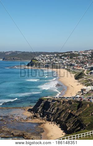 Merewether and Bar Beach - Newcastle Australia. The second oldest city in Australia is home to many beautiful beaches such as Bar Beach and Merewether beach.