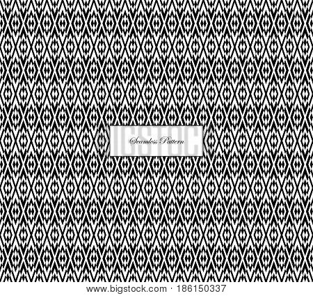 Halftone Effect Abstract Background Monochrome Black White-19.eps