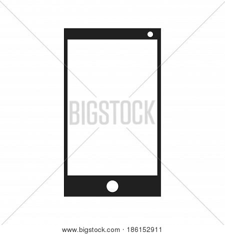 smartphone technology device call image vector illustration