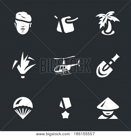 Soldier, tag, palm, reed, helicopter, shovel, parachute, order, Vietnamese.