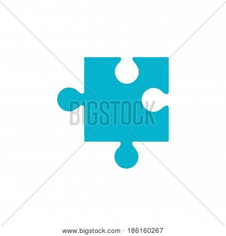 Puzzle piece symbol icon vector illustration graphic design