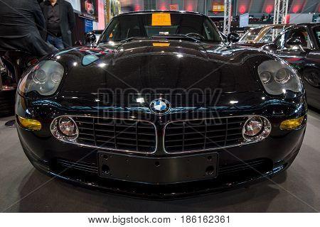 STUTTGART GERMANY - MARCH 02 2017: Sports car BMW Z8 Aplina 2003. Europe's greatest classic car exhibition