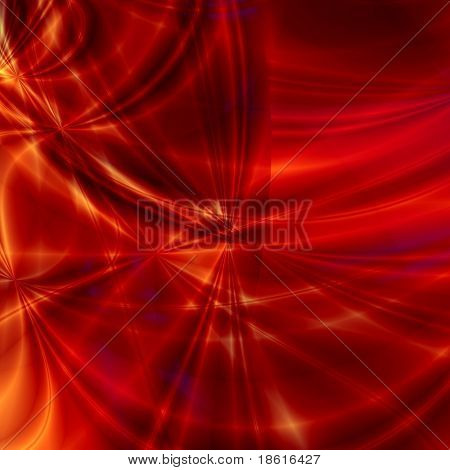 Red fantasy background