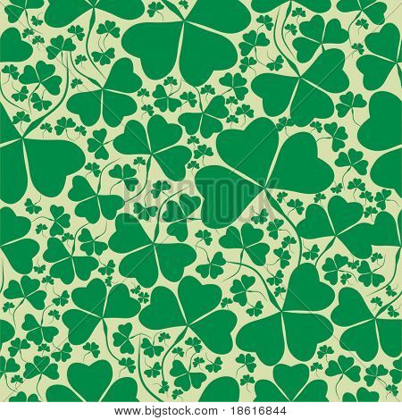 Seamless St. Patrick's day background