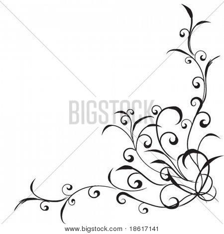 Beautiful floral corner