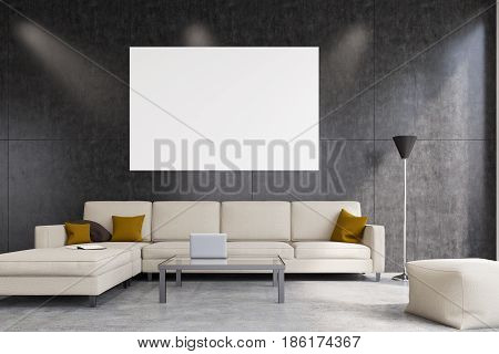 White Living Room, Front