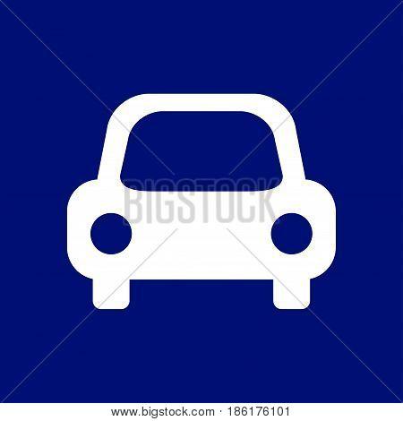 Transport icon. Car sign. Delivery transport symbol.