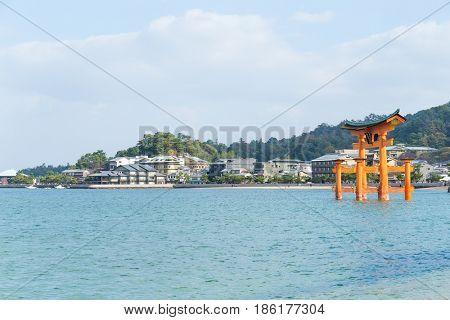Itsukushima Shrine in Miyajima of Japan