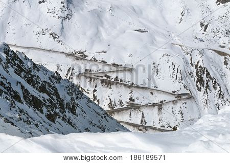 Oetztal Glacier Road, Austria