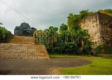 Garuda Statue. Garuda Wisnu Kencana Cultural Park. Bali. Indonesia.