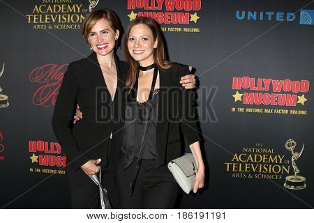 LOS ANGELES - APR 26:  Natalia Livingston, Tamara Braun at the NATAS Daytime Emmy Nominees Reception at the Hollywood Museum on April 26, 2017 in Los Angeles, CA