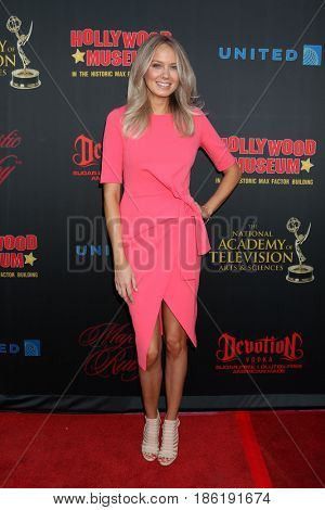 LOS ANGELES - APR 26:  Melissa Ordway at the NATAS Daytime Emmy Nominees Reception at the Hollywood Museum on April 26, 2017 in Los Angeles, CA