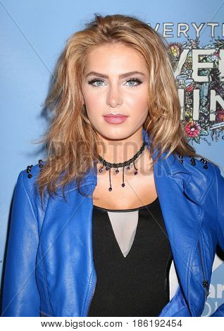 LOS ANGELES - MAY 6:  Saxon Sharbino at the