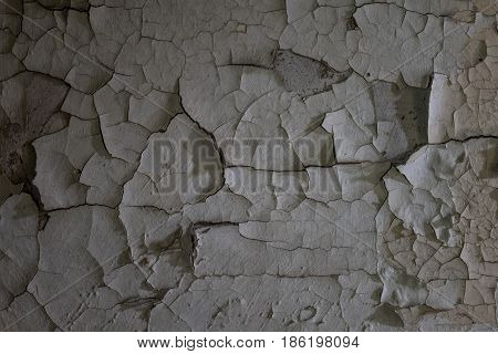 The Old And Cracked Wall Of A Building, Lost Places