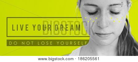 Inspirational Live Your Dream Quote