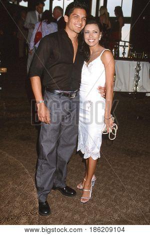 NEW YORK - MAY 16:  Nicolas Gonzalez, Eva Longoria at the  People's Choice Awards at the Rainbow Room on May 16, 2001 in New York, NY