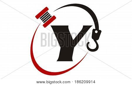 This image describe about Crane Hook Towing Letter Y