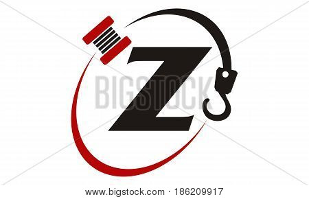 This image describe about Crane Hook Towing Letter Z