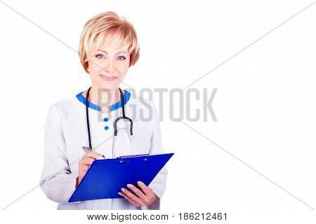 Medical Concept. Doctor At Work
