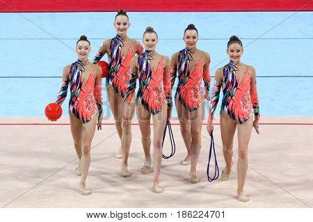 Team Belarus Rhythmic Gymnastics
