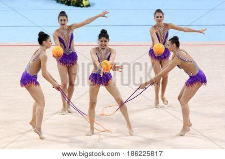 Team Switzerland Rhythmic Gymnastics