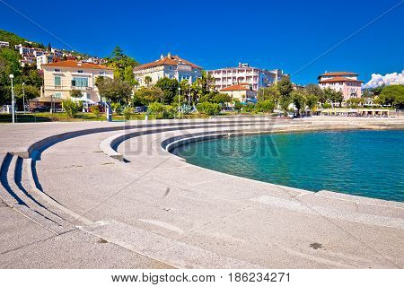 Town Of Opatija Waterfront View