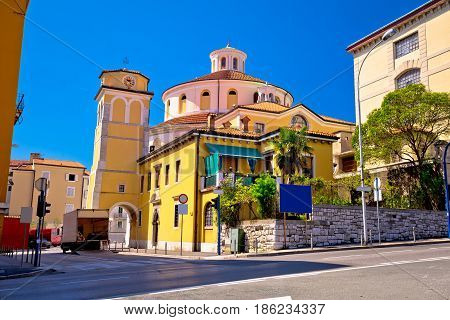 Rijeka Church And Square Street View