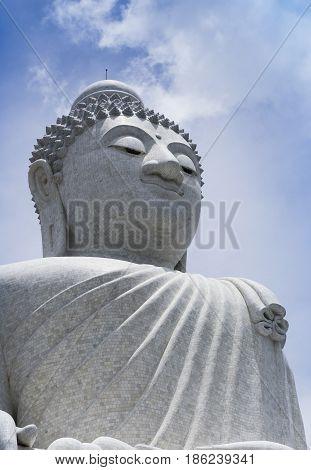 Big Budda in Phuket Thailand april 20 2015