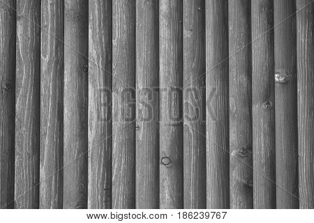 Fragment Of Lining Wall By Wood, Detailed Structure, Background