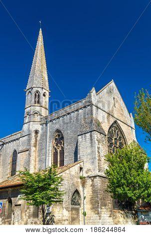 Chapelle des Cordeliers, a chapel in Angouleme - France, Charente