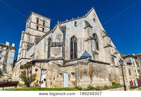 Saint Andre Church in Angouleme - France, Charente