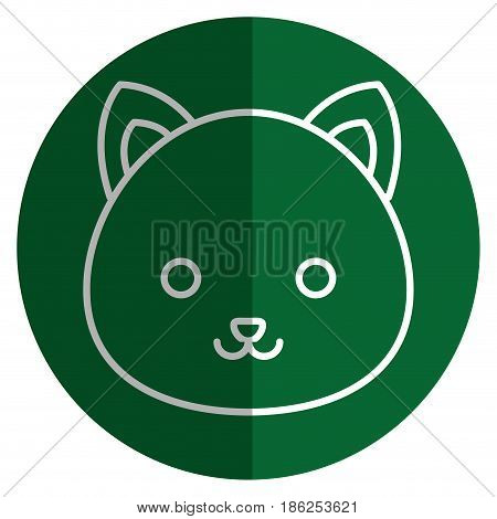 cute and tender hamster kawaii style vector illustration design