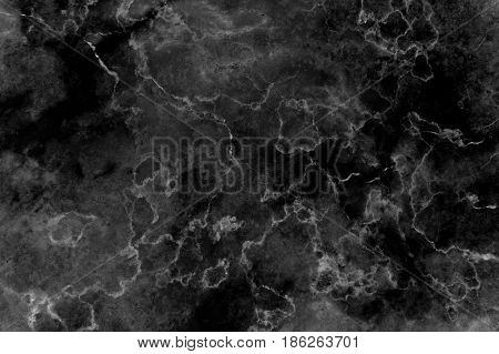 Black Marble Texture Background (Detailed real genuine marble from nature, Can be used for creating a black background and surface effect for interior wallpaper design ideas)