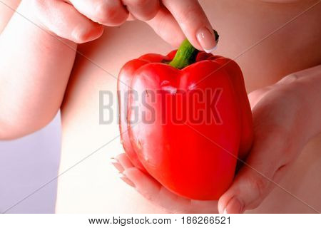 Red pepper notable of a hight gustatory and dietary qualitys and consist of vitamins A and C.