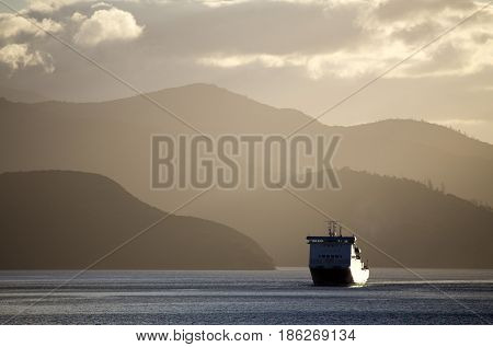 Ferry View Picton New Zealand