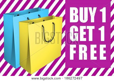 Buy 1 Get 1 Free - Concept