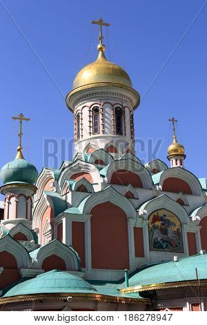 Orthodox Church At Red Square